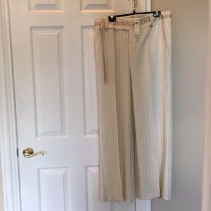 Stripe Cream/Tan pants